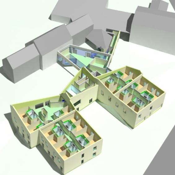 Maquette-projet-extension-ehpad-CHAMBON-SUR-LIGNON